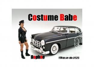 American Diorama figurine AD-23920 Costume Babe - Daphne 1/24