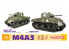 Dragon maquette militaire 75055 M4A3 105mm Howitzer Tank / M4A3(75)W (2 in 1) 1/6