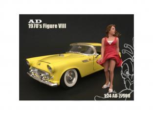 American Diorama figurine AD-77508 Figurine 70's Style VIII 1/24