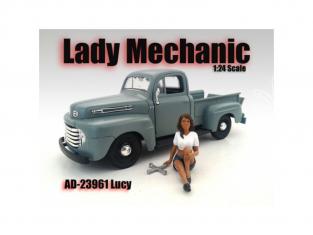 American Diorama figurine AD-23961 Mécanicienne - Lucy 1/24
