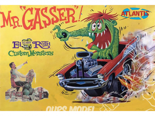 Atlantis maquette 1301 Mr Gasser Ed Big Daddy Roth 1/32