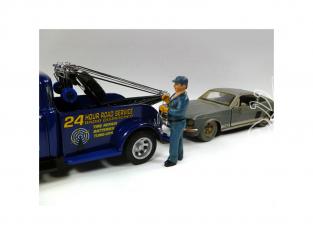 American Diorama figurine AD-23906 Dépanneur - Bill 1/24