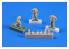 Cmk figurine F72249 U-boot U-IX Équipage revenant de mission II (3 fig) pour kit Revell 1/72