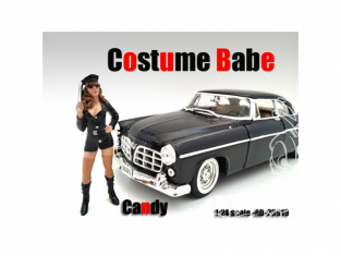 American Diorama figurine AD-23919 Costume Babe - Candy 1/24