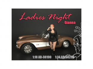 American Diorama figurine AD-38290 Filles de la nuit - Gianna 1/24