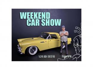 American Diorama figurine AD-38310 Weekend Car Show II 1/24
