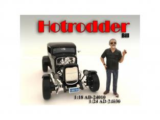 American Diorama figurine AD-24030 Hot Rodder - Bill 1/24