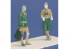 CMK figurine f35187 Équipage de char DAK 2 figurines 1/35