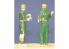 CMK figurine f35189 Équipage de chars de la 8e armée britannique 2 figurines 1/35