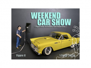 American Diorama figurine AD-38313 Weekend Car Show V 1/24
