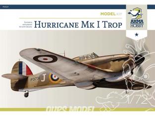 Arma Hobby maquette avion 70021 Hurricane Mk I Trop Model Kit! 1/72