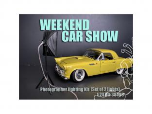 American Diorama accessoire AD-38439 Set de Lumieres pour véhicules 1/24