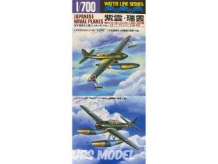 Aoshima maquette avion 45909 Set d'hydravions Japonais 1/700