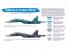 Hataka Hobby peinture acrylique Blue Line BS58 Ensemble de peinture Ultimate Su-34 Fullback set 6 x 17ml