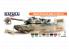 Hataka Hobby peinture laque Orange Line CS108 Modern Australian Army AFV paint set 8 x 17ml