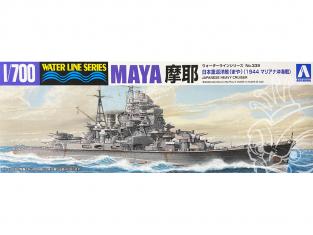 Aoshima maquette bateau 45381 Maya I.J.N. 1944 Water Line Series 1/700