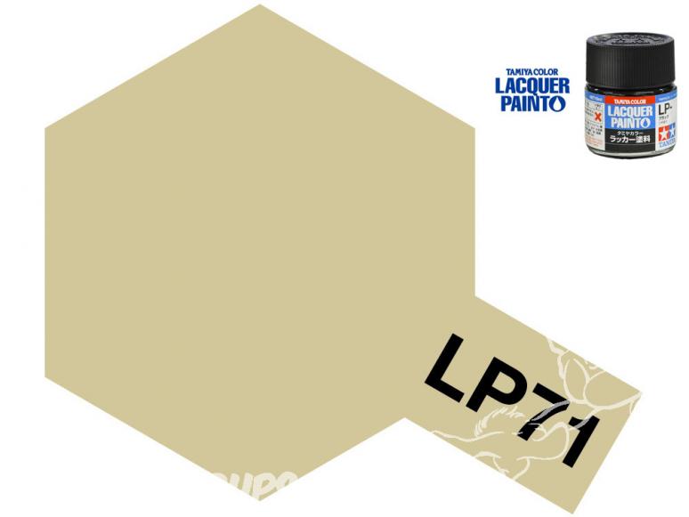 Peinture laque couleur Tamiya LP-71 CHAMPAGNE OR 10ml