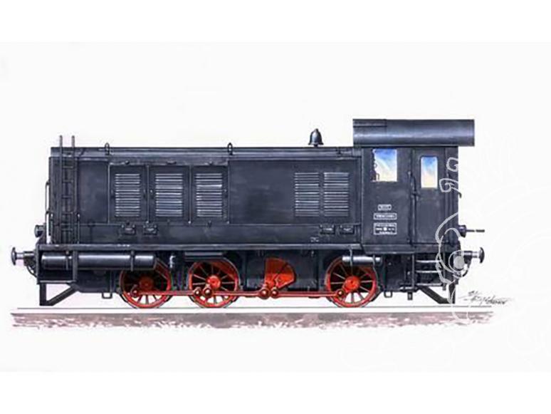 Planet Maquettes Militaire mv053 Locomotive diesel WR 360 C14 full resine kit 1/72