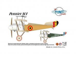Planet Model 253 Ponnier M.1 full resine kit 1/72