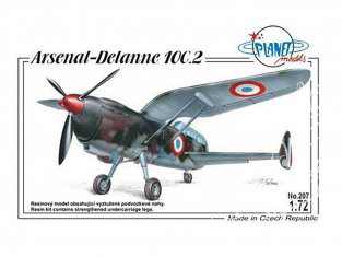 Planet Model 207 Arsenal Delanne 10C.2 full resine kit 1/72