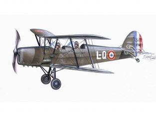 Planet Model 097 Stampe SV-4 B/C couleurs fraçaise full resine kit 1/72