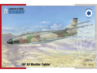 Special Hobby maquette avion 72410 Vautour IIN IAF All Weather Fighter 1/72