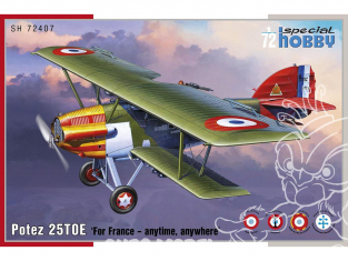 Special Hobby maquette avion 72407 Potez 25 TOE 1/72