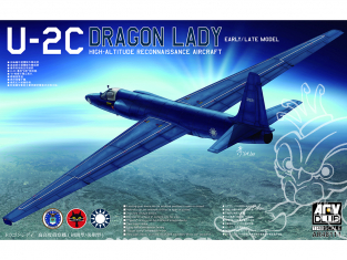 AFV maquette avion 48114 Lockheed U-2C DRAGON LADY 1/48
