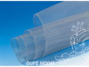 Faller decor 170665 Tissu de fil d'aluminium