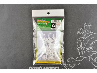 Trumpeter outillage 08013 Coupelles pour peinture anneau 0,4cc X 20pcs