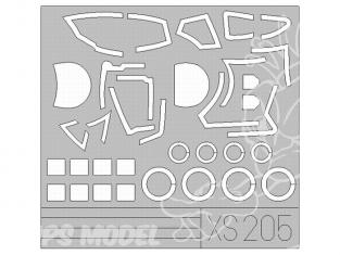 Eduard Express Mask XS205 Mi24D Hind 1/72