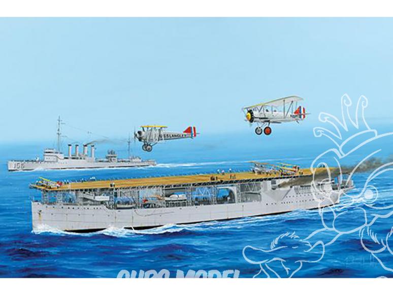 TRUMPETER maquette bateau 05631 Porte avion USS LANGLEY CV-1 1/350