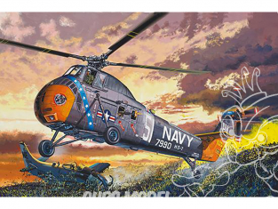 Trumpeter maquette hélicoptére 02882 H-34 US Navy Rescue 1/48