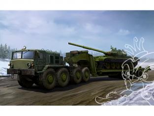 TRUMPETER maquette militaire 01065 MAZ-537G late avec ChMZAP-9990 Semi 1/35
