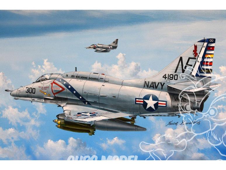 Hobby Boss maquette avion 87255 A-4F Sky Hawk 1/72