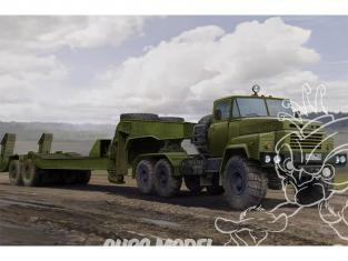 Hobby Boss maquette militaire 85523 KrAZ-260B avec MAZ/ChMZAP-5247G remorque Russe 1/35