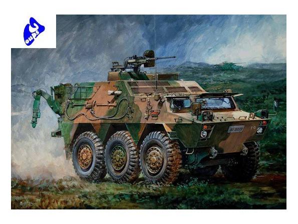 trumpeter maquette militaire 00330 vehicule de detection 1/35