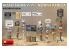 Mini Art maquette militaire 35604 Panneaux indicateurs de route AFRIQUE DU NORD WWII 1/35