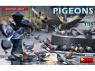 Mini Art maquette militaire 38036 Pigeons 1/35