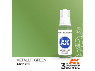 Ak interactive peinture acrylique 3G AK11205 Vert métallique 17ml