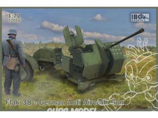 IBG maquette militaire 72076 Canon anti-aérien allemand Flak 38 1/72