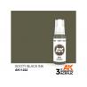 Ak interactive peinture acrylique 3G AK11222 Encre noir de suie 17ml