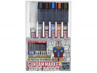 Mr Hobby GMS-122 Set Ensemble Gundam Marker Pour Sumi