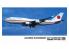 Hasegawa maquette avion 10709 Boeing 747-400 du gouvernement japonais 1/200
