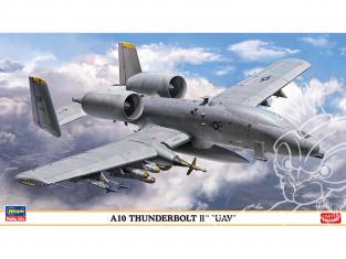 HASEGAWA maquette avion 02307 A10 Thunderbolt II «UAV» 1/72