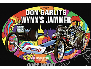 AMT maquette camion 1163 Don Garlits Wynns Jammer Dragster 1/25