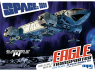 MPC MAQUETTE FICTION 913 Eagle Transporter space 1999