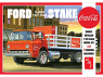 """AMT maquette camion 1147 Ford C600 Stake Bed avec machines """"Coca-Cola"""" 1/25"""