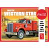 "AMT maquette camion 1160 Semi-tracteur Western Star ""Coca-Cola"" blanc 1/25"