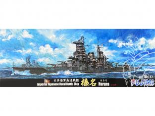 Fujimi maquette bateau 431680 Haruna 1944 Navire de la Marine Japonaise Impériale 1/700